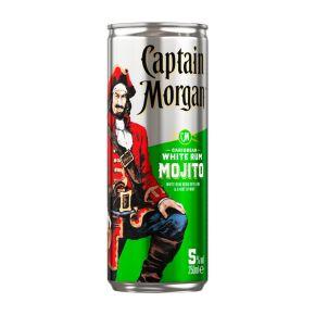 Captain Morgan White rum mojito blik product photo