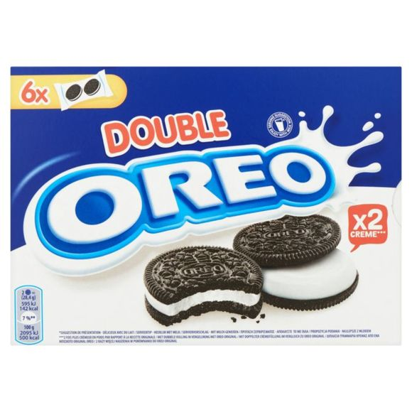 Oreo Double crème box product photo