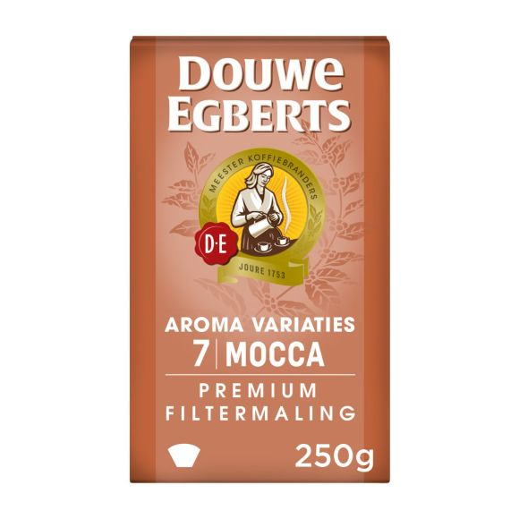 Douwe Egberts Mocca (7) filterkoffie product photo
