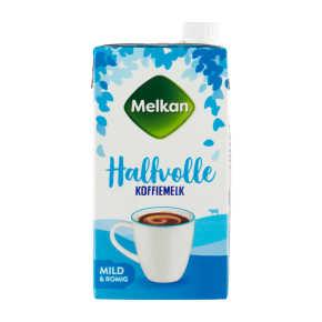 Melkan Koffiemelk halfvol product photo