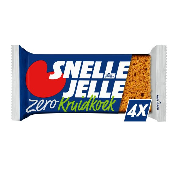 Snelle Jelle kruidkoek zero repen product photo