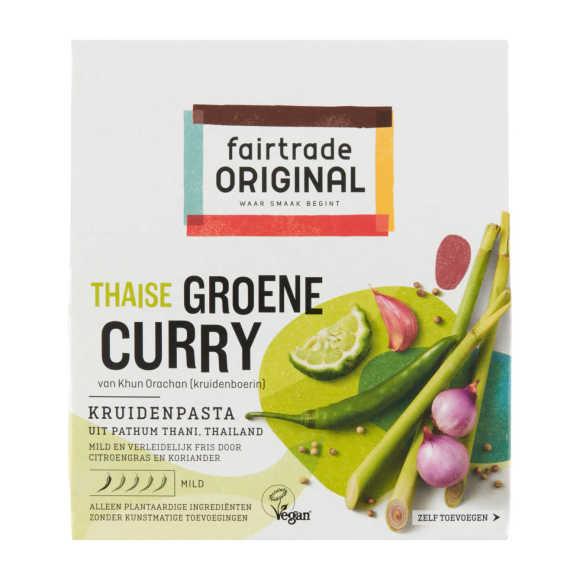 Fairtrade Original groene curry kruidenpasta product photo