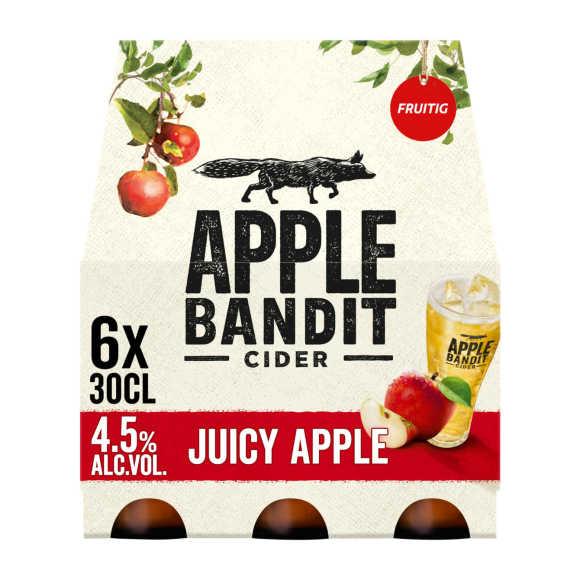 Apple Bandit Cider juicy apple fles 6 x 30 cl product photo