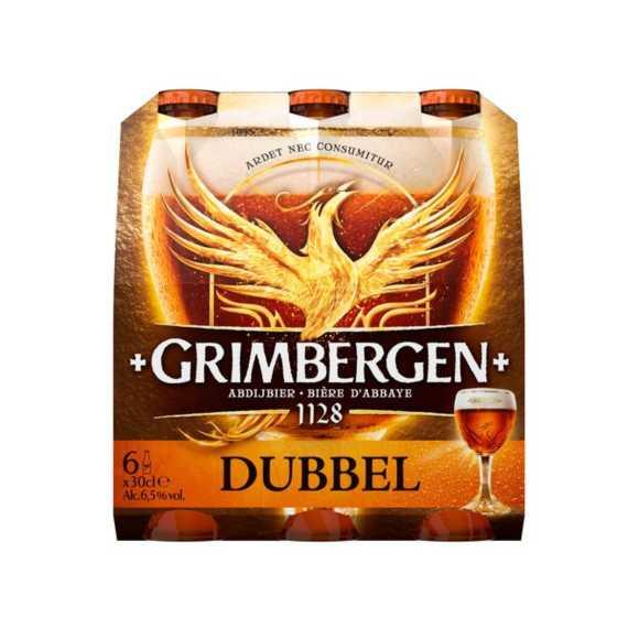 Grimbergen Dubbel bier fles 6 x 30 cl product photo