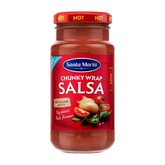 Santa Maria Chunky wrap salsa hot product photo