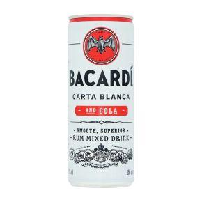 Bacardi Carta blanca & cola blik product photo