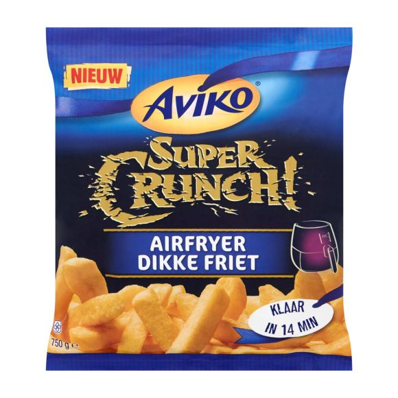 Aviko Supercrunch airfryer dikke friet product photo