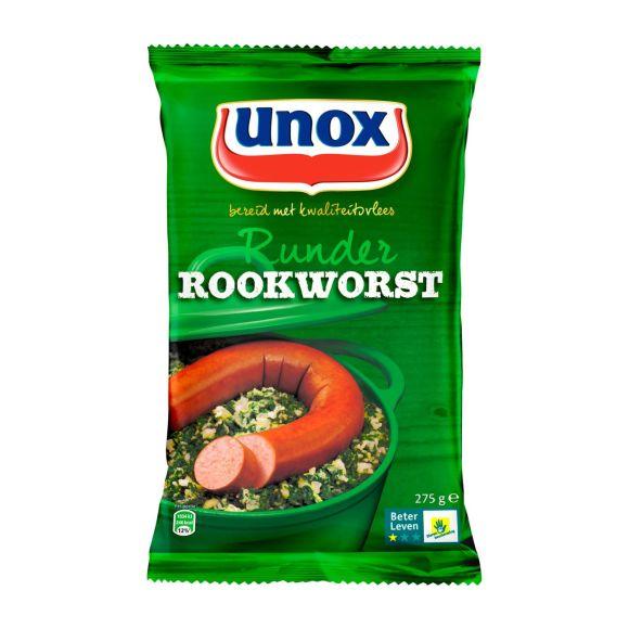 Unox Runder Rookworst 275 g product photo