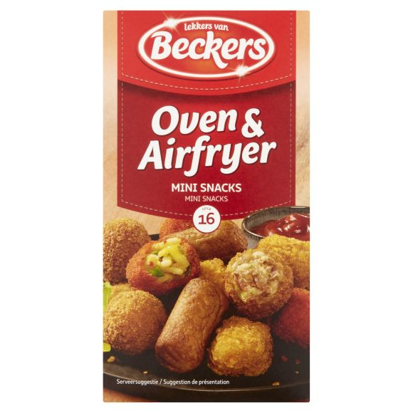 Beckers oven en airfryer mini snacks product photo