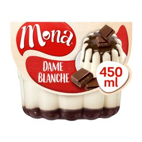 Mona Dame blanche pudding product photo