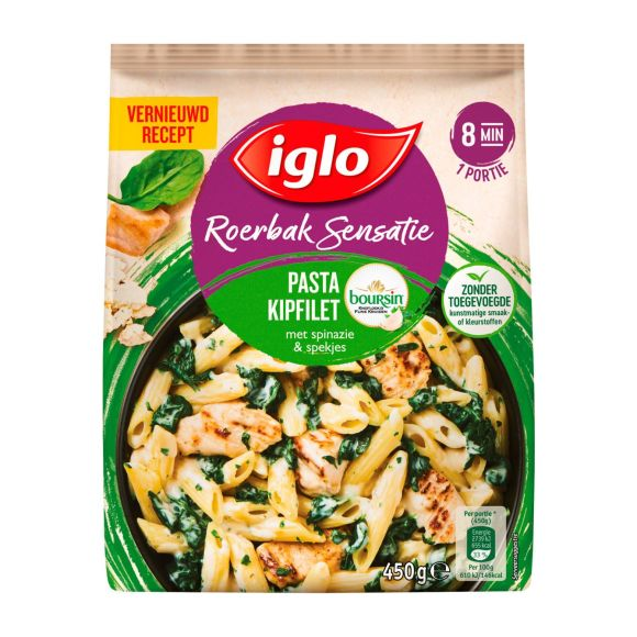 Iglo Roerbaksensatie Kipfilet Boursin product photo
