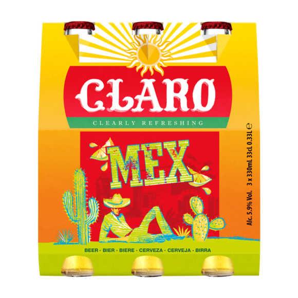 Claro Tequila bier fles product photo