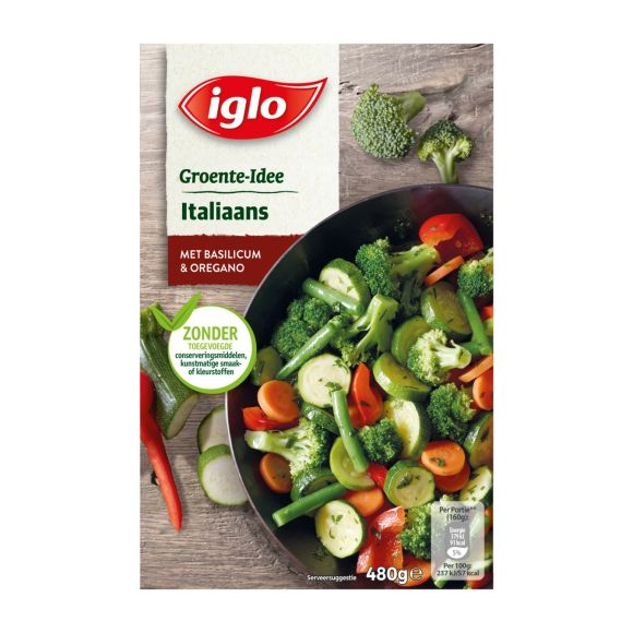 Iglo Groente-Idee Italiaans product photo