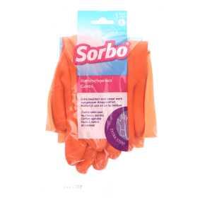 Sorbo Huishoudhandschoenen oranje L product photo