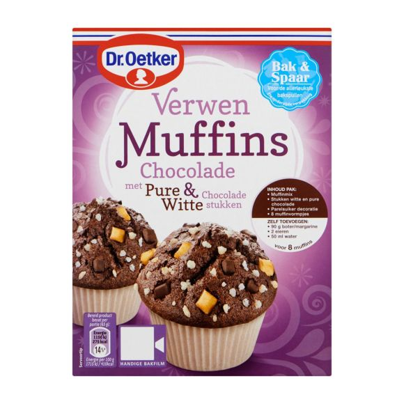 Dr. Oetker Verwen Muffins met Chocolade product photo