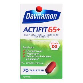 Actifit 65+ tabletten, 70 stuks product photo