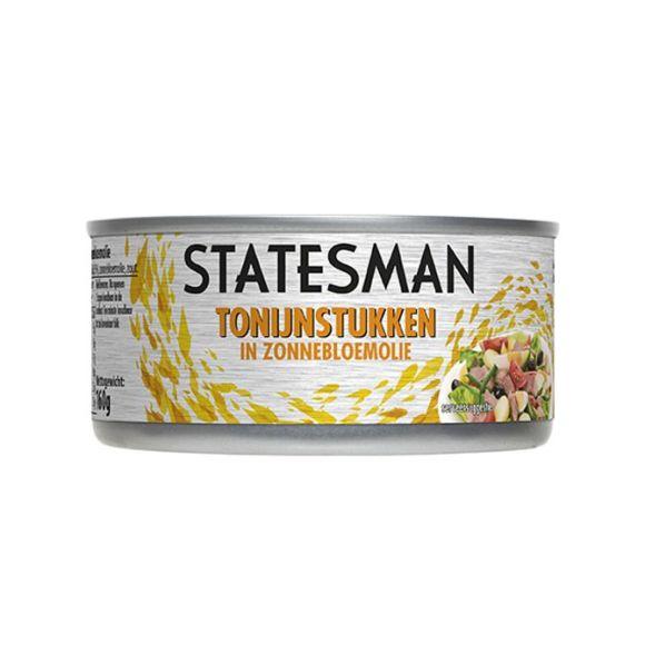 Statesman Tonijnstukken in zonnebloemolie product photo