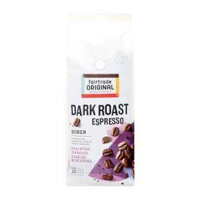 Fairtrade Original dark roast espresso koffiebonen product photo