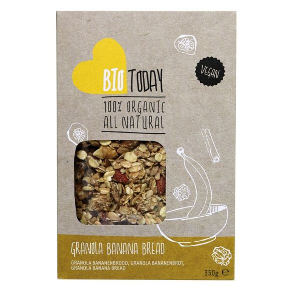 BioToday Granola bananenbrood product photo