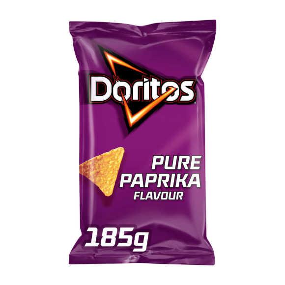 Doritos Pure paprika tortilla chips product photo