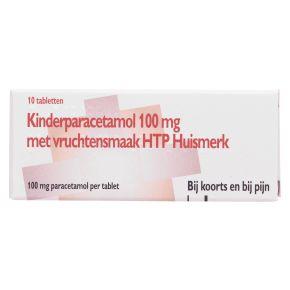 Healthypharm Huismerk Kinderparacetamol 100 mg met vruchtensmaak product photo