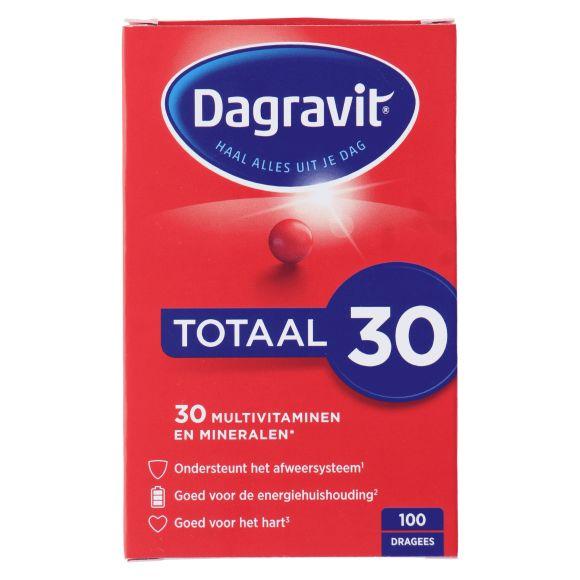 Dagravit Totaal 30 Multivitaminen dragees product photo