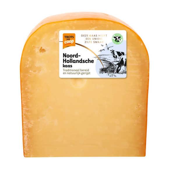 Trots van Coop Noord-Hollandsche overjarig 48+ kaas stuk product photo