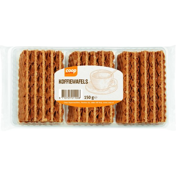 Coop Koffiewafels product photo