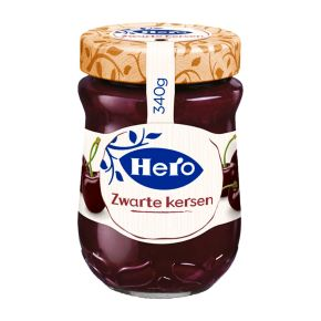 Hero Zwarte kersenjam product photo