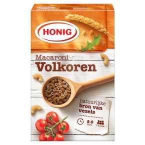 Honig Macaroni volkoren product photo
