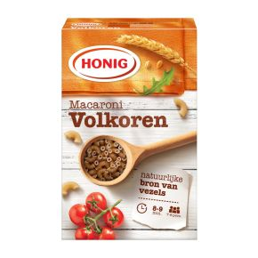 Honig Macaroni volkoren product photo