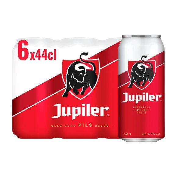 Jupiler Belgisch Pils Bier Blikken 6 x 44 cl product photo