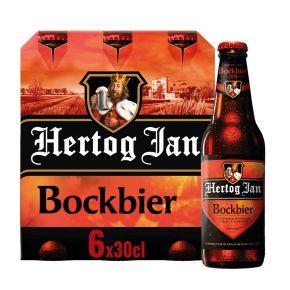 Hertog Jan Bockbier Bier Flessen 6 x 30 cl product photo
