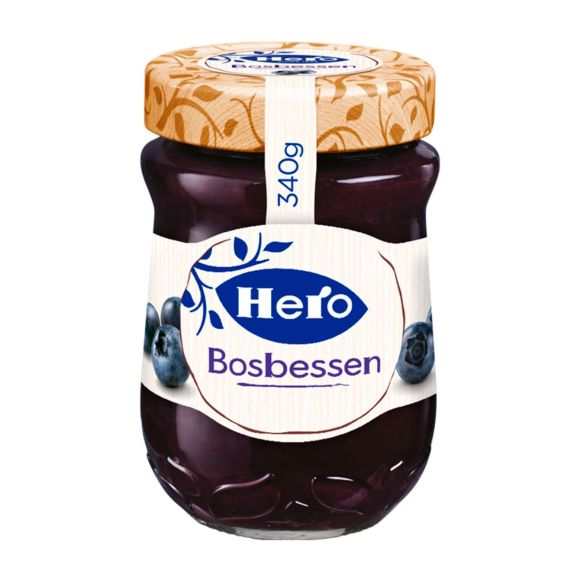 Hero Bosbessenjam product photo