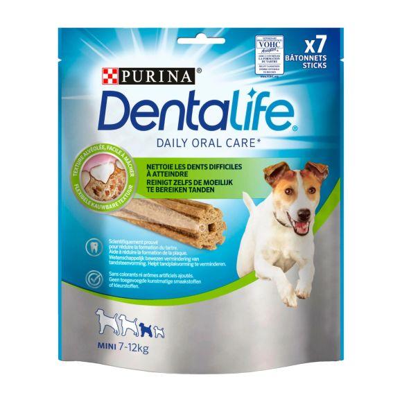 PURINA DENTALIFE SMALL Snacks voor honden 115g Stazak product photo