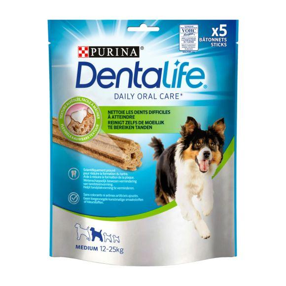 PURINA DENTALIFE MEDIUM Snacks voor honden 115g Stazak product photo