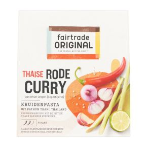 Fairtrade Original Thaise rode curry product photo