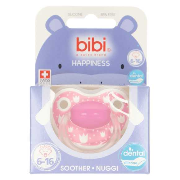Bibi Happiness fopspeen lovely dots 6-16 maanden product photo