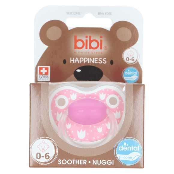 Bibi Happiness lovely dots 0-6 maanden fopspeen product photo