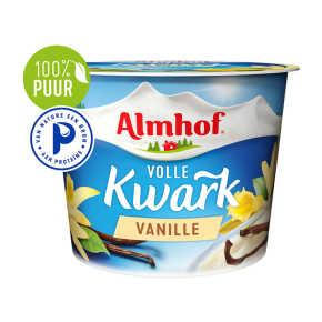 Almhof volle kwark vanille product photo
