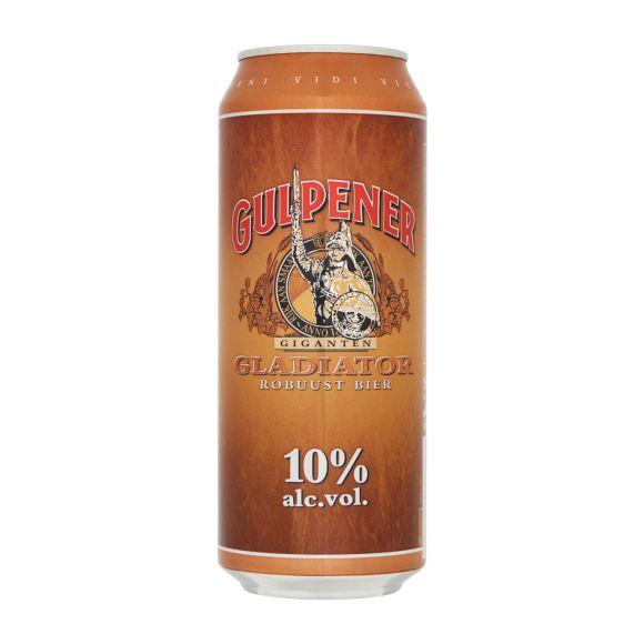 Gulpener Gladiator bier blik product photo