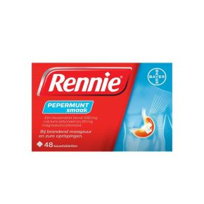 Rennie Pepermunt kauwtabletten product photo