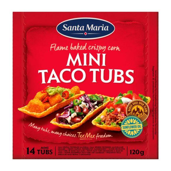 Santa Maria Mini Taco Tubs product photo