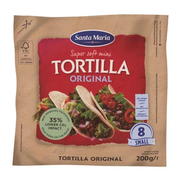 Santa Maria Orginal mini tortilla product photo