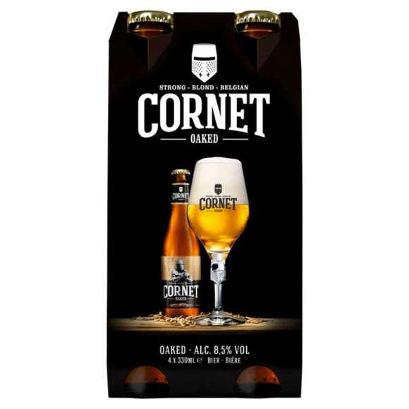 Cornet Oaked sterk blond speciaal bier fles product photo