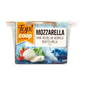 Top! van Coop Buffel mozzarella product photo