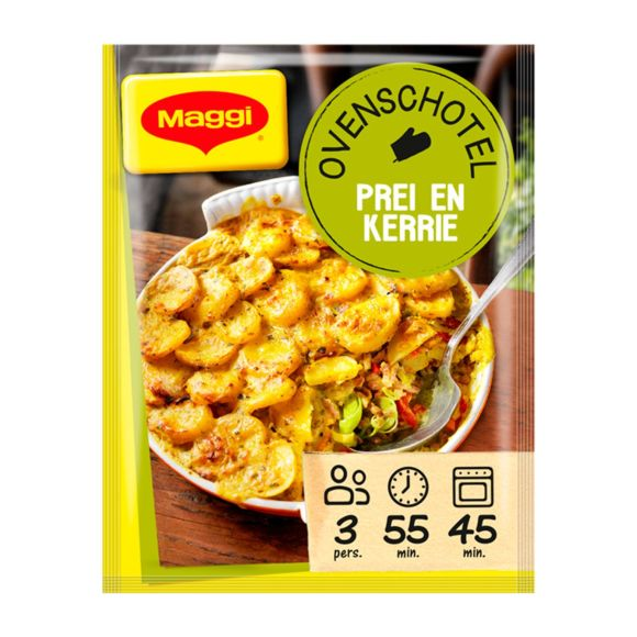 Maggi Ovenschotel prei en kerrie product photo