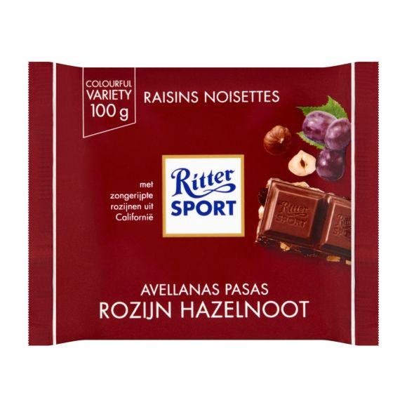 Ritter Sport Rozijn hazelnoot product photo
