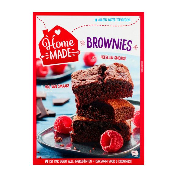 HomeMade Complete mix voor Brownies product photo