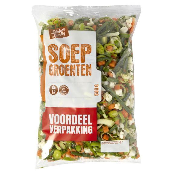 Soepgroenten voordeelverpakking product photo